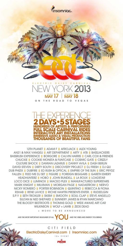 EDCNY_2013Lineup