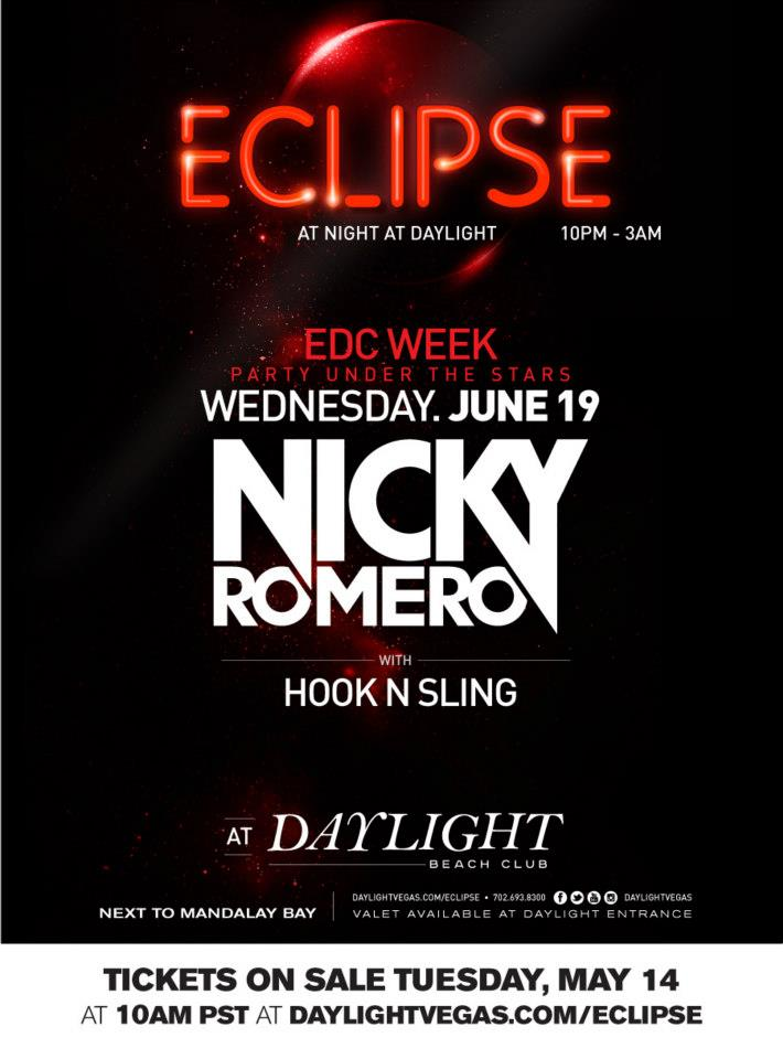 Eclipse EDC Week Nicky Romero June 19 2013