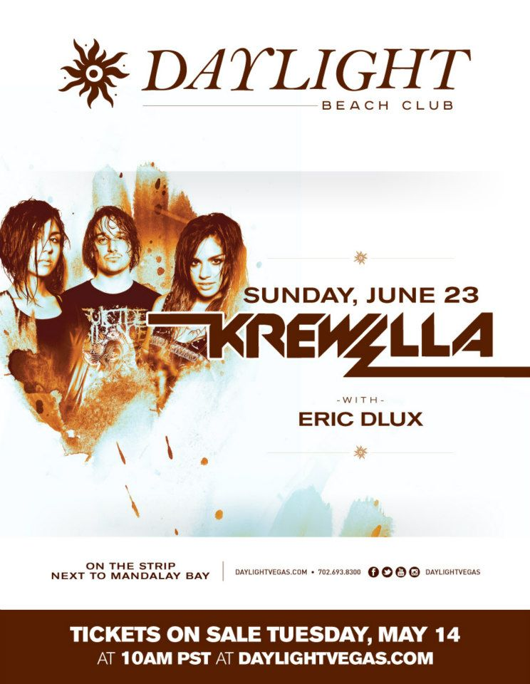 Krewella Daylight Beach Club June 22 2013 Vegas