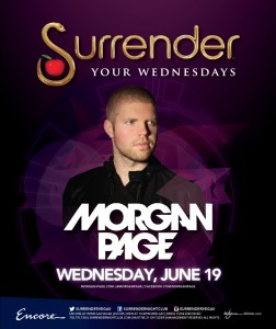 Morgan Page Surrender Nightclub June 19 2013