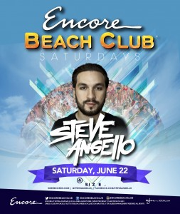 Steve Angello Encore June 22