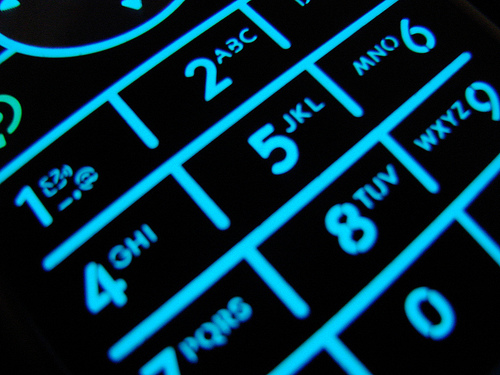 Get phone numbers from old phone