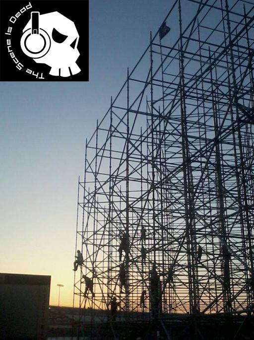 EDC Stage Construction 2013
