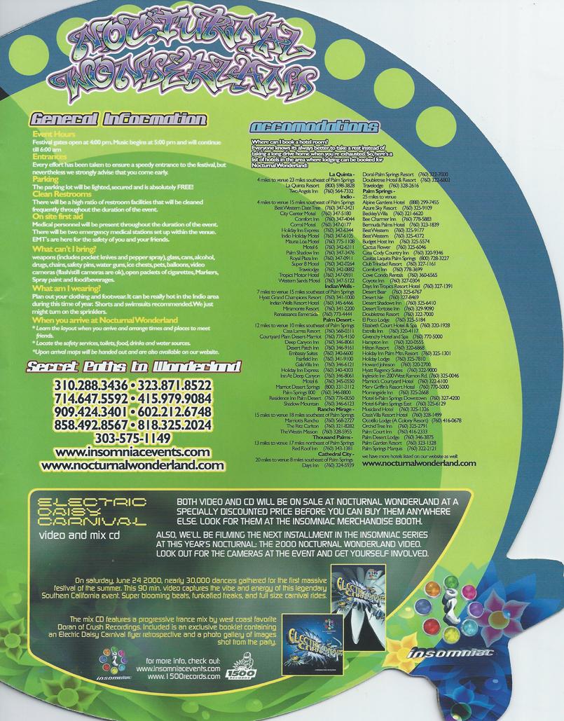 Nocturnal Wonderland Sept 2 2000 page 11