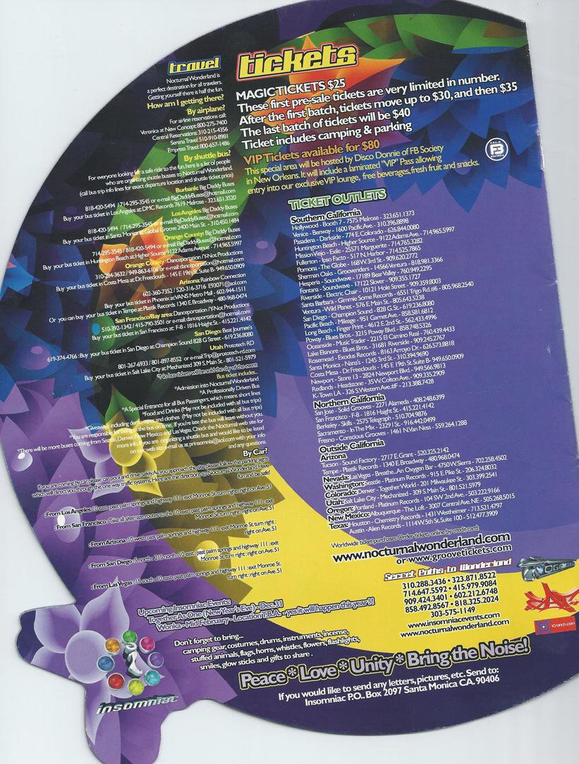 Nocturnal Wonderland Sept 2 2000 page 12