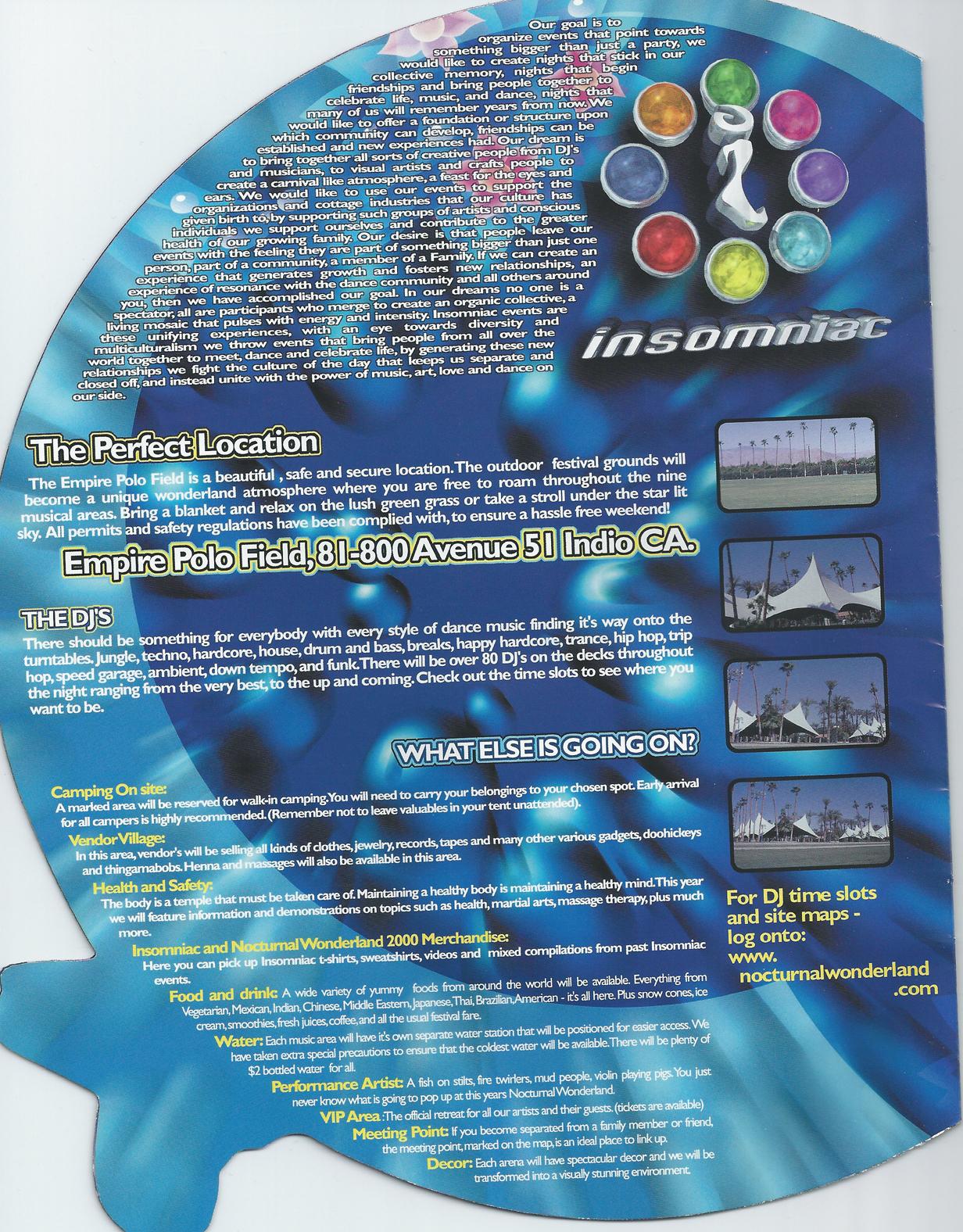 Nocturnal Wonderland Sept 2 2000 page 2