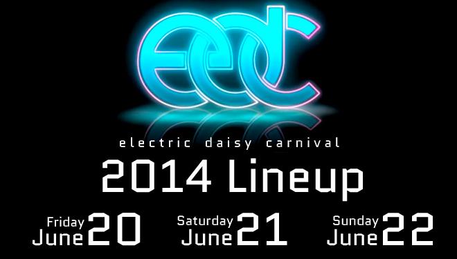 EDC Vegas 2014 Lineup