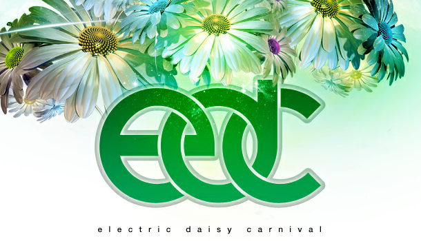 Electric Daisy Carnival Logo On the road to EDC Veg...