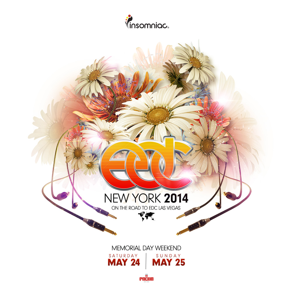EDC New York - artwork