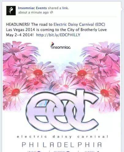 EDC Philly Fake Post
