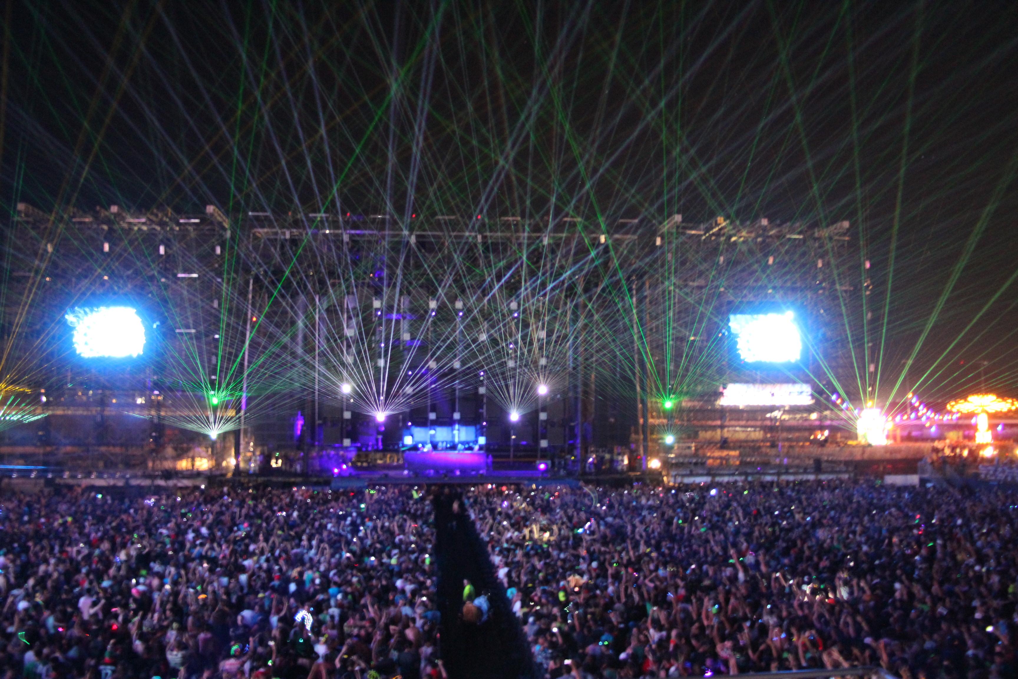 EDC Las Vegas 2011 3 Main Stage