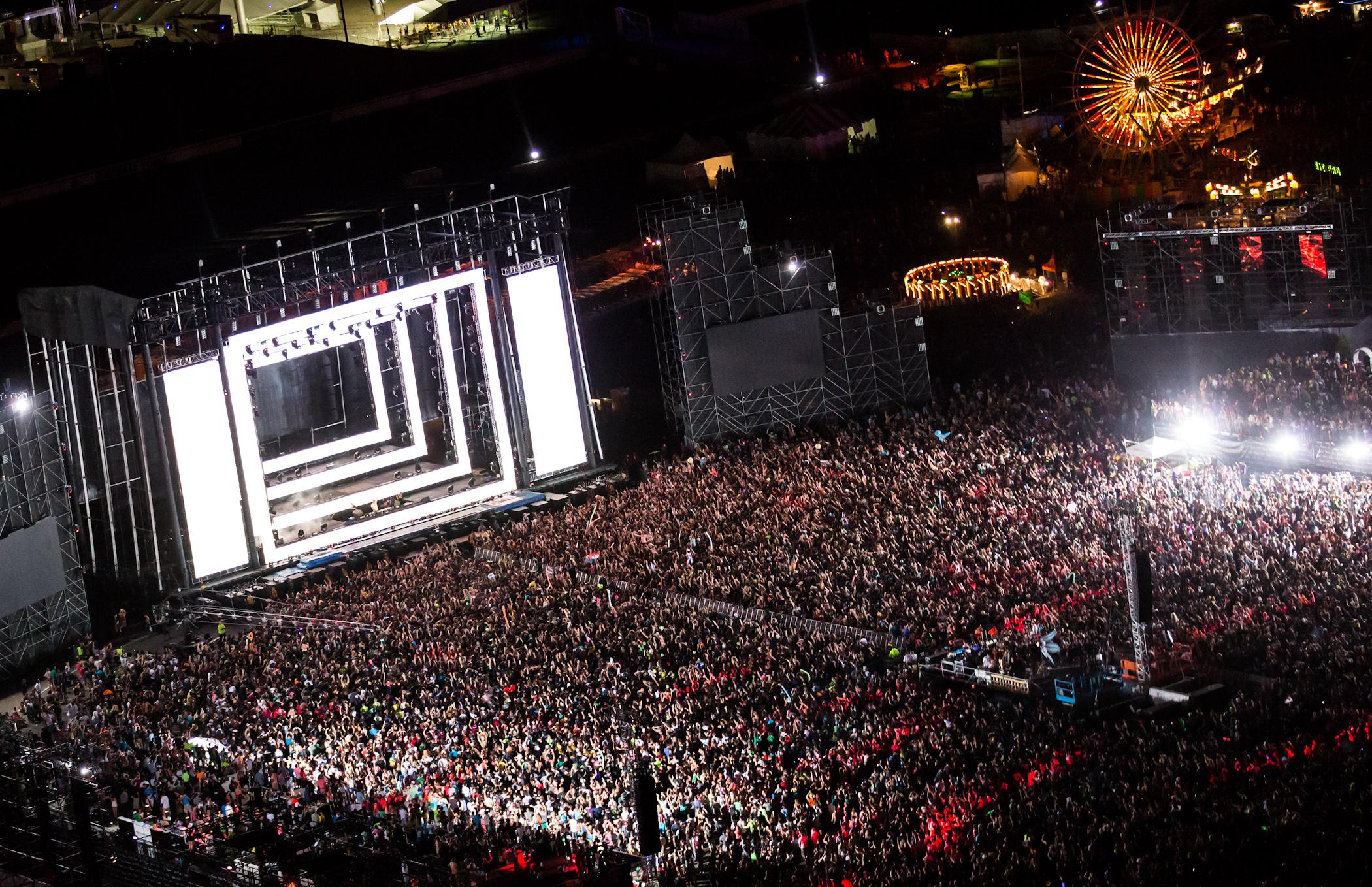 EDC Las Vegas 2012 Main Stage