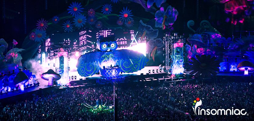 Edc Las Vegas Main Stages 2011 To 2013 The Scene Is Dead