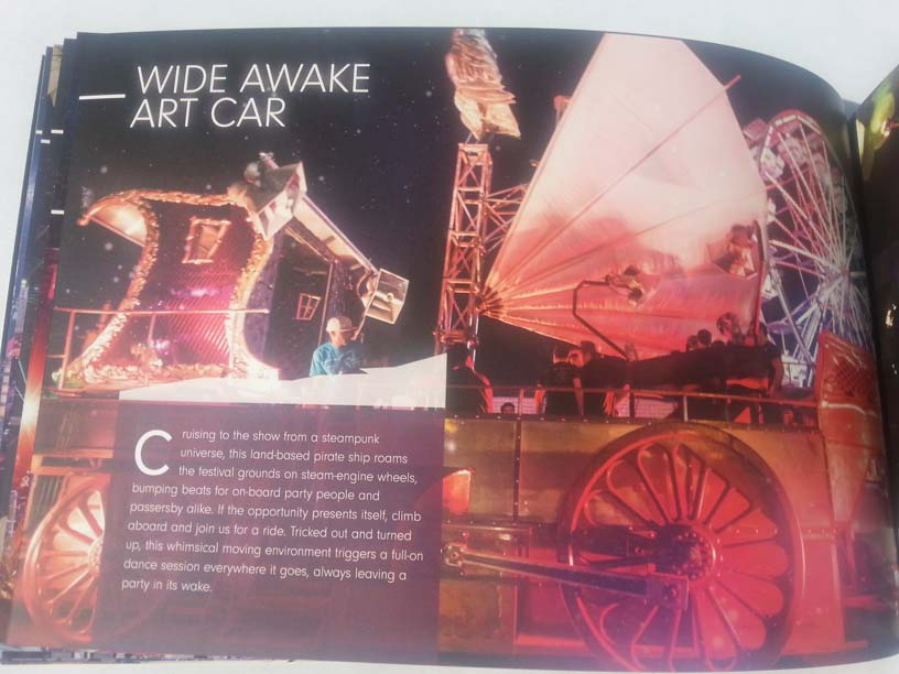 EDCLV 2014 Box Book Inside 10 Wide Awake Art Car