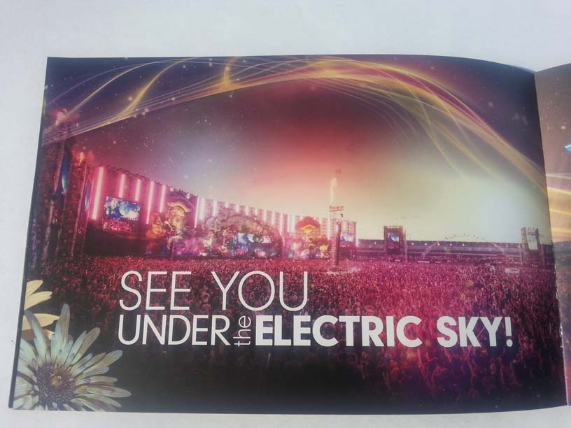 EDCLV 2014 Box Book Inside 14 See You Under the Electric Sky