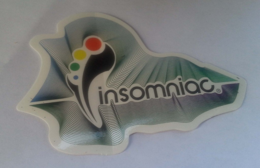 EDCLV 2014 Box Insomniac Sticker