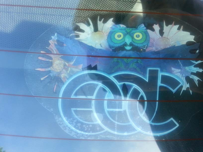 EDCLV 2014 Box Owl Sticker After