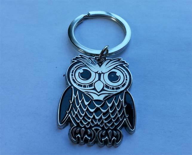 EDCLV Box 2014 Owl Keychain
