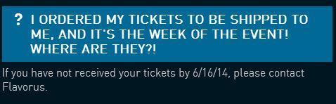 Ticketstatus