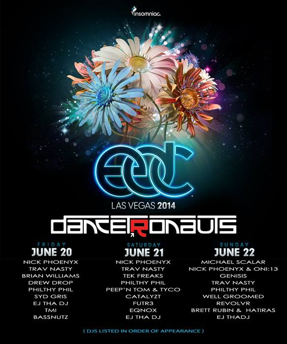 Dancetronauts EDC Las Vegas 2014