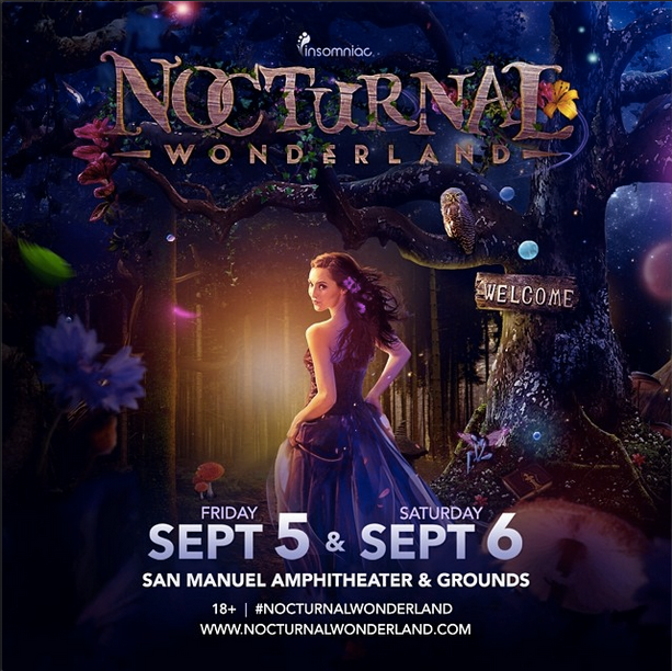 Nocturnal Wonderland 2014 SoCal