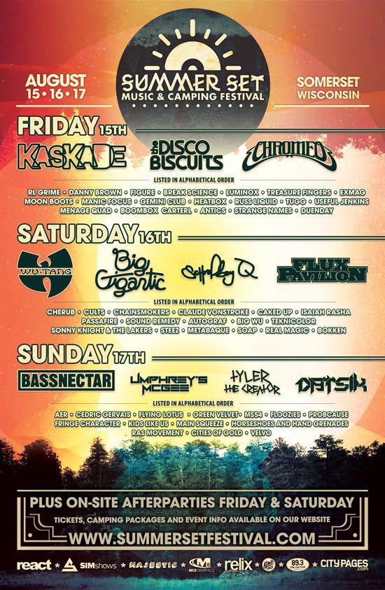 Summer Set Lineup 2014