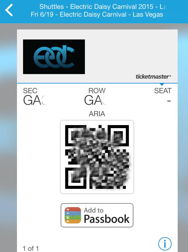 Ticketmaster Print At Home Mobile
