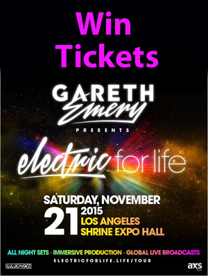 Contest: Win a Pair of Tickets to Gareth Emery