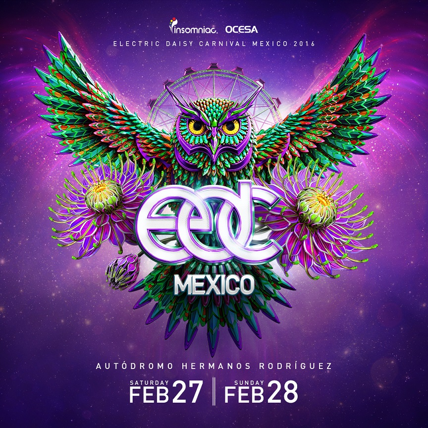 Edc Mexico 2016 Festival Returns For 3rd Year On February