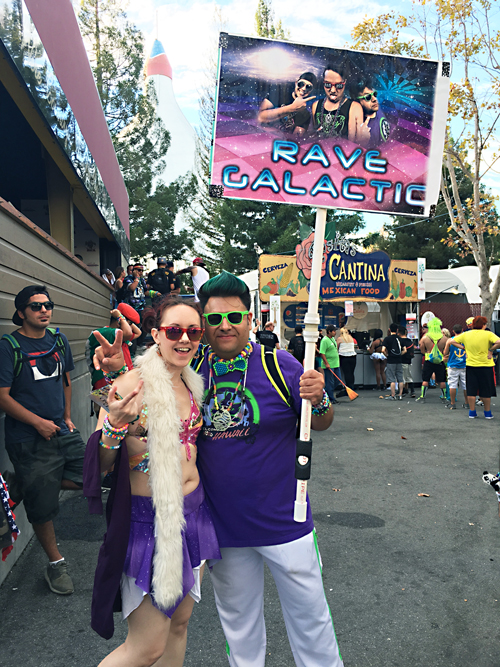 Galactic Rave Couple